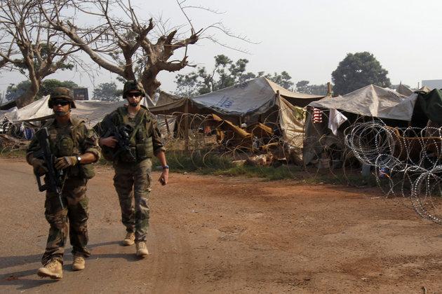 Militari francesi attaccati a Batangafò (R.C.A.)