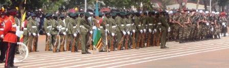 Tapis rouge à Bangui pour 50 ans d'indépendance