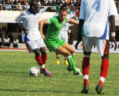Eliminatoires de la CAN, 2 buts à 0 en faveur de la RCA face à l'Algérie