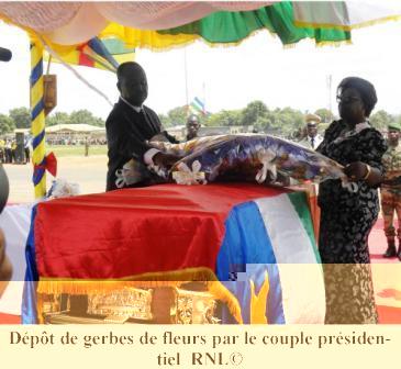 Les centrafricains ont dit adieu au président Patassé