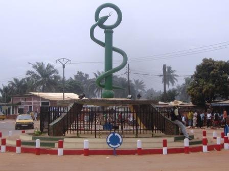 Un monument à Bangui en souvenir du Pr Abel Goumba