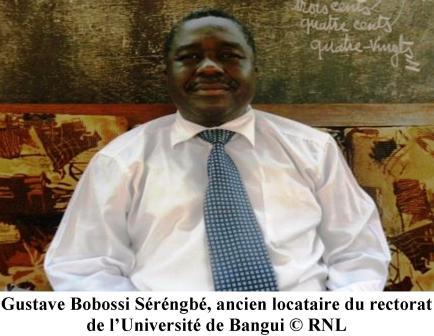 Le Recteur de l'Université de Bangui limogé