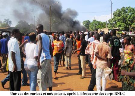 3 arrondissements de Bangui sous couvre feu