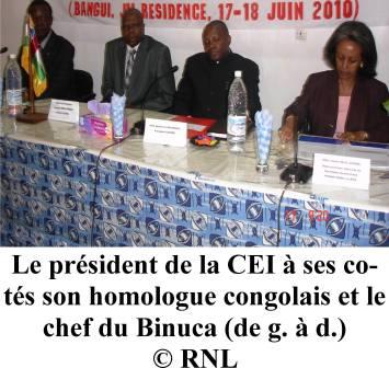 La CEI veut s'inspirer de l'exemple de la RDC avec l'Abbé Malu Malu