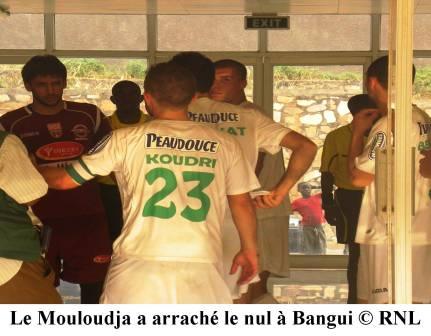 Deux clubs centrafricains tenus en échec à Bangui