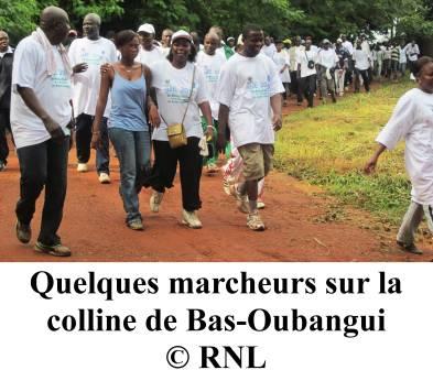 Journée mondiale de l'environnement 2010, marche pour une prise de conscience en Centrafrique